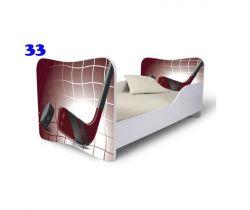 Pinokio Deluxe Butterfly Hokej 33 Detská posteľ