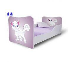 Pinokio Deluxe Butterfly Mačka 12 detská posteľ