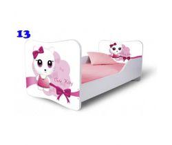 Pinokio Deluxe Butterfly Mačka 13 detská posteľ