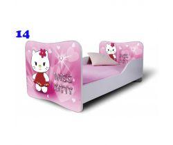 Pinokio Deluxe Butterfly Mačka 14 detská posteľ