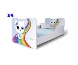Pinokio Deluxe Butterfly Mačka 15 detská posteľ