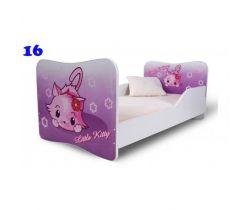 Pinokio Deluxe Butterfly Mačka 16 detská posteľ