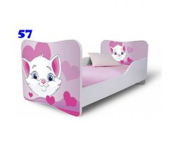 Pinokio Deluxe Butterfly Mačka 57 detská posteľ