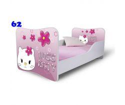 Pinokio Deluxe Butterfly Miss Kitty 62 detská posteľ