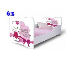 Pinokio Deluxe Butterfly Miss Kitty 63 detská posteľ