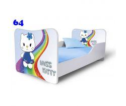 Pinokio Deluxe Butterfly Miss Kitty 64 detská posteľ