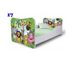 Pinokio Deluxe Butterfly Safari 17 detská posteľ
