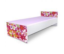 Pinokio Deluxe Classic Kvetinky C-3 posteľ 180 x 80 cm