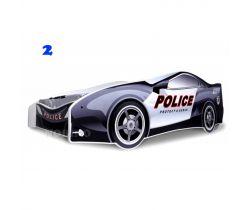 Pinokio Deluxe Policajné auto detská posteľ