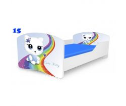 Pinokio Deluxe Rainbow Cute Kitty 15   detská posteľ