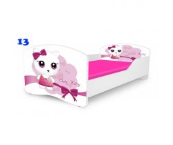 Pinokio Deluxe Rainbow Mačička 13   detská posteľ