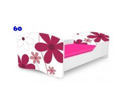 Pinokio Deluxe Rainbow Kvetinky 60 detská posteľ