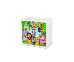 Pinokio Deluxe Safari 17 zásuvková komoda