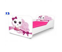 Pinokio Deluxe Square Cute Kitty 13 detská posteľ