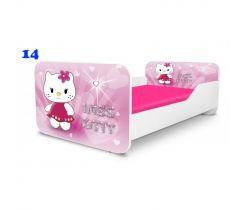 Pinokio Deluxe Square Miss Kitty 14 detská posteľ
