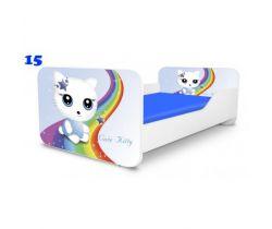 Pinokio Deluxe Square Miss Kitty 15 detská posteľ