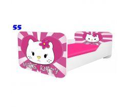 Pinokio Deluxe Square Miss Kitty 55 detská posteľ