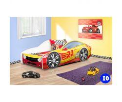 Detská posteľ NEW Pinokio Deluxe Závodné auto 10