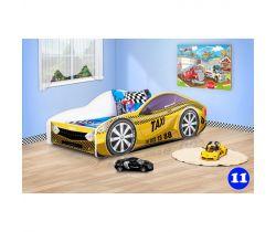 Detská posteľ NEW Pinokio Deluxe Závodné auto 11