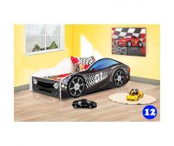 Detská posteľ NEW Pinokio Deluxe Závodné auto 12
