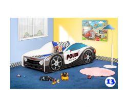 Detská posteľ NEW Pinokio Deluxe Závodné auto 13