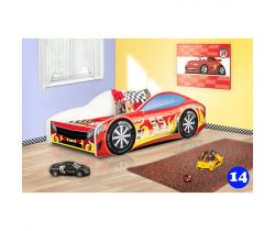 Detská posteľ NEW Pinokio Deluxe Závodné auto 14