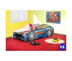 Detská posteľ NEW Pinokio Deluxe Závodné auto 15