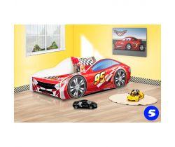 Detská posteľ NEW Pinokio Deluxe Závodné auto 5