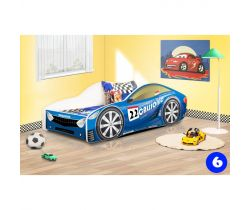 Detská posteľ NEW Pinokio Deluxe Závodné auto 6