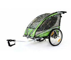 Pláštenka na vozík za kolo Qeridoo