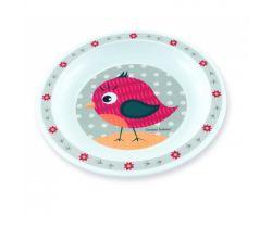 Plastový tanier Canpol Happy Animals