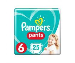 Plienkové nohavičky 9-15 kg 25 ks Pampers Pants 6