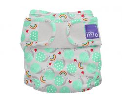 Plienkové nohavičky Bambino Mio Miosoft Snail Surprise