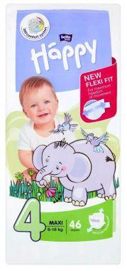 Plienky Bella Baby Happy Maxi 4 (8-18 kg) 46 ks