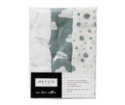 Plienky 70x70 cm 3-balenie Meyco