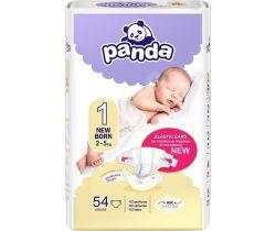 Plienky Bella Baby Panda Newborn 1 (2-5 kg) 54 ks