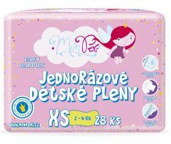 Plienky MonPeri XS (2-4 kg) 28 ks