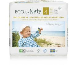 Plienky Naty Nature Babycare Maxi 4 (7-18 kg) 26 ks
