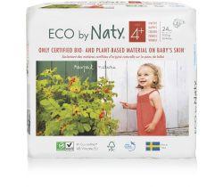 Plienky Naty Nature Babycare Maxi Plus 4+ (9-20 kg) 24 ks