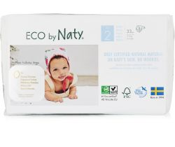Plienky Naty Nature Babycare Mini 2 (3-6 kg) 34 ks
