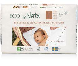 Plienky Naty Nature Babycare Newborn 1 (2-5 kg) 25 ks