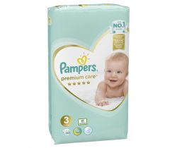 Plienky Pampers Premium Care Midi 3 (6-10 kg) 60 ks
