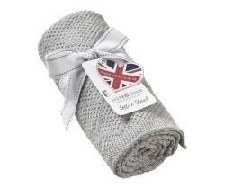Pletená deka Silvercloud