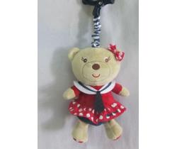 Plyšová hračka BabyMix Sailor Girl