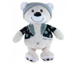 Plyšová hračka BabyMix Bear with Cap