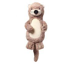 Plyšová hračka s hrkálkou BabyOno Otter Maggie