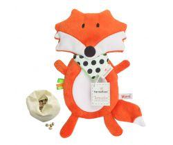 Plyšová hračka s termofor Mom's Care Liška