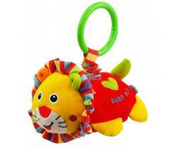 Plyšová hračka s vibrací BabyMix Lev