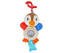 Plyšová hračka s vibráciou BabyMix Tučniak