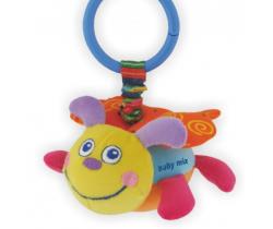 Plyšová hračka s vibráciou BabyMix Včielka